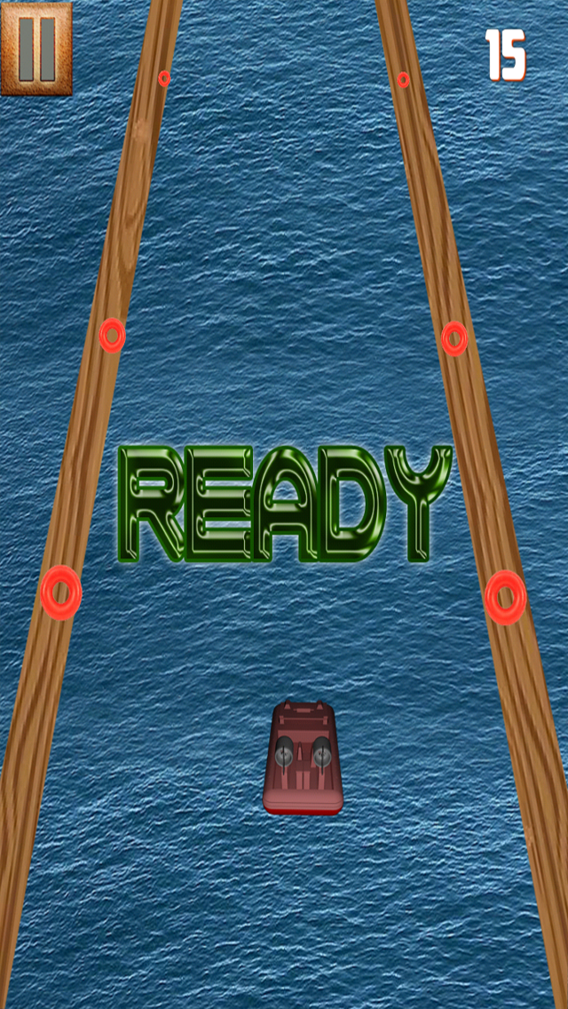 Ocean Wonders - Hovercraft Racing Game screenshot two