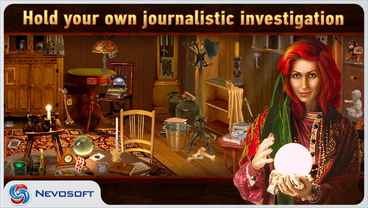 Mysteryville Lite: hidden object investigation screenshot-0