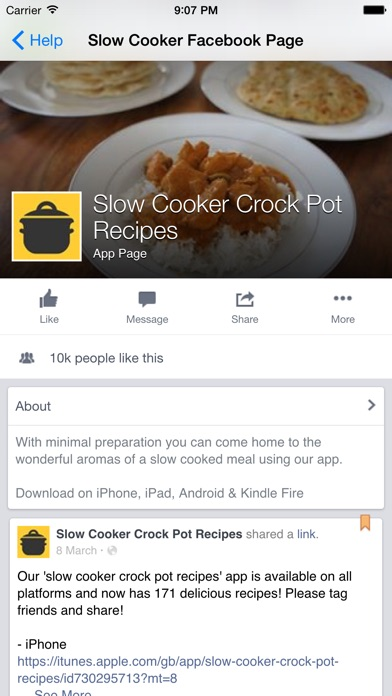 Slow cooker crock pot recipes app price drops screenshot 9 for slow cooker crock pot recipes forumfinder Images