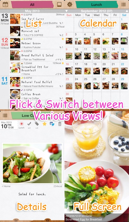 SimpleWeight * Photo - Easy & Efficient Food Photo Diary screenshot-3