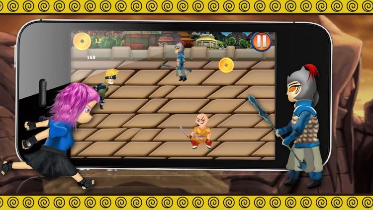Konoha Temple Adventure - Brave Little Ninja Run screenshot-4