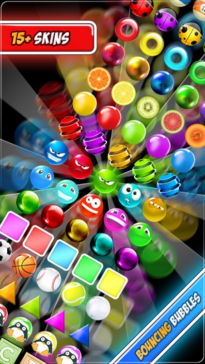 Bouncing Bubbles LITE - The absolutely crazy bubble shooter game screenshot-4