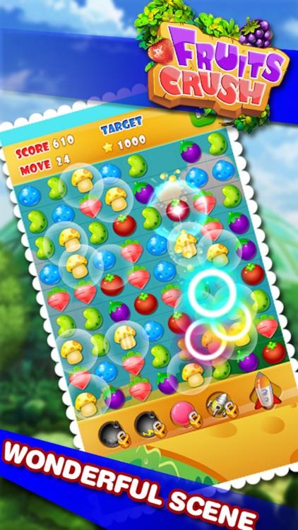 Farm Fruits Mania Bubble- Popular fruits or candy time killer casual game screenshot-3
