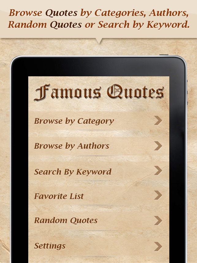 Quotes On The App Store
