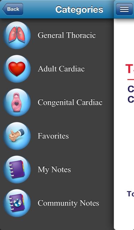 TSRA Clinical Scenarios