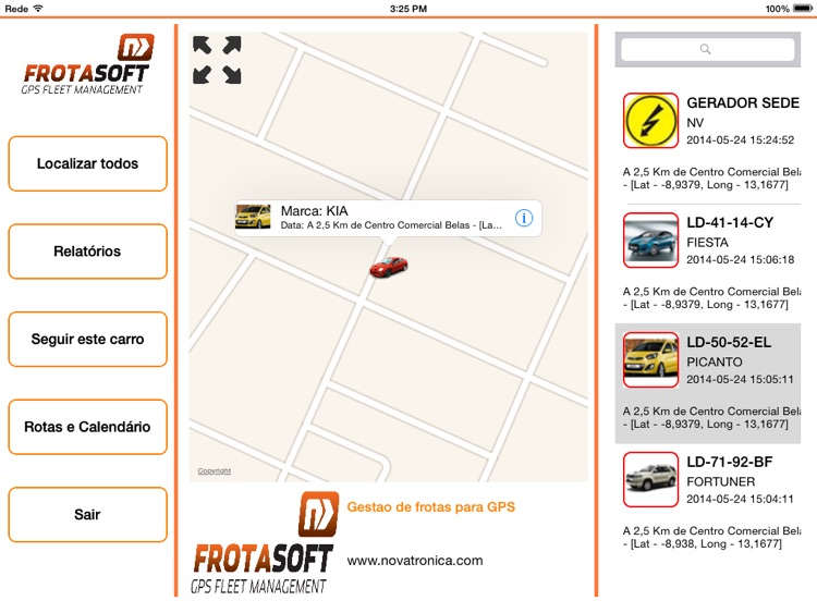 FrotaSoft HD screenshot-1