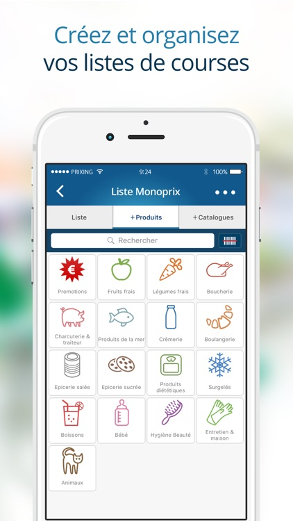 Prixing - Comparateur de prix, shopping, promotions et liste de courses screenshot-3