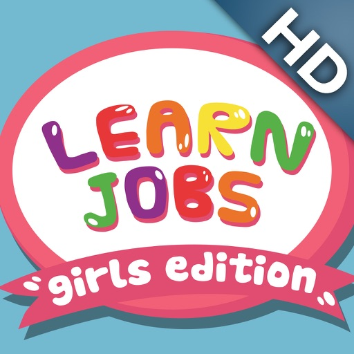 ABC Baby Learn Jobs – Girl Edition - 3 in 1 Game for Preschool Kids – Memorize Names of Professions and Occupations
