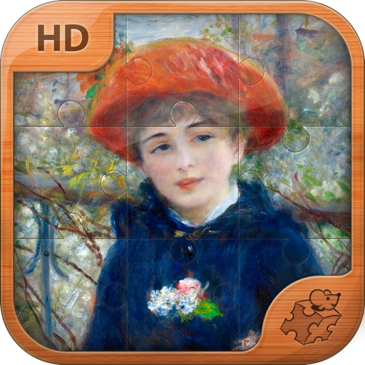 Pierre-Auguste Renoir Jigsaw Puzzles  - Play with Paintings. Prominent Masterpieces to recognize and put together