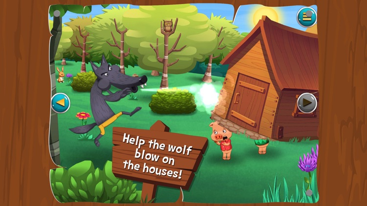 The Three Little Pigs - Search and find screenshot-4