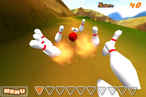 Downhill Bowling screenshot 1