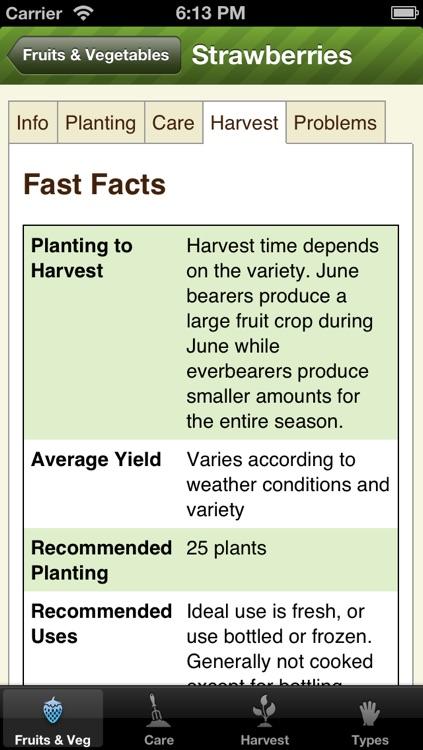 Essential Garden Guide Lite - Grow Perfect Vegetables & Fruits
