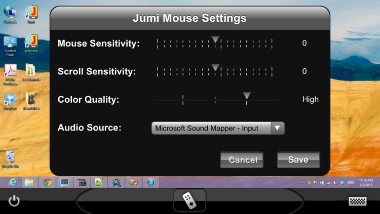 JumiMouse+ Remote Desktop for Windows screenshot-3