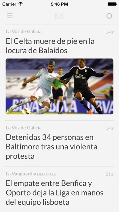 Periódicos ES - Los mejores diarios y noticias de la prensa en España Screenshot