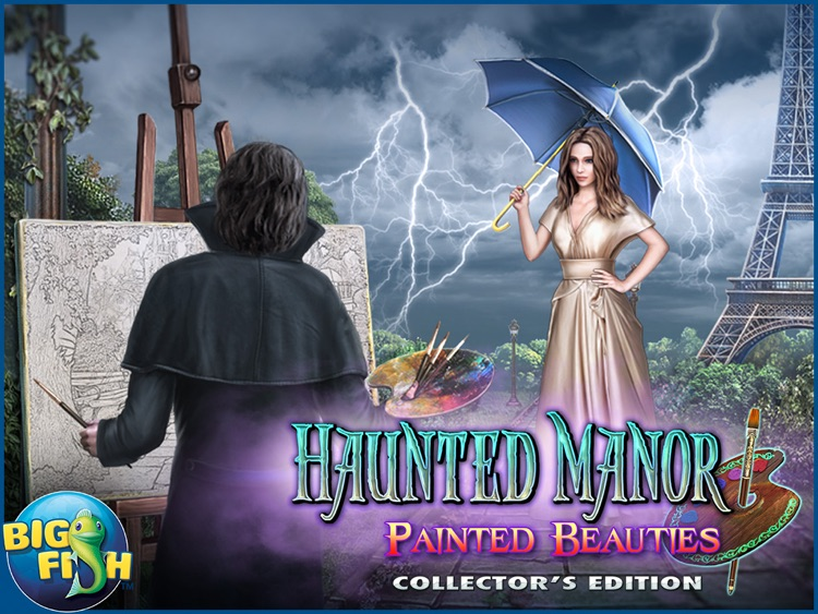 Haunted Manor: Painted Beauties HD - A Hidden Objects Mystery screenshot-4
