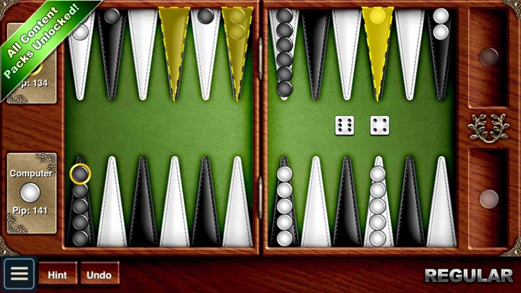 Backgammon HD screenshot-0
