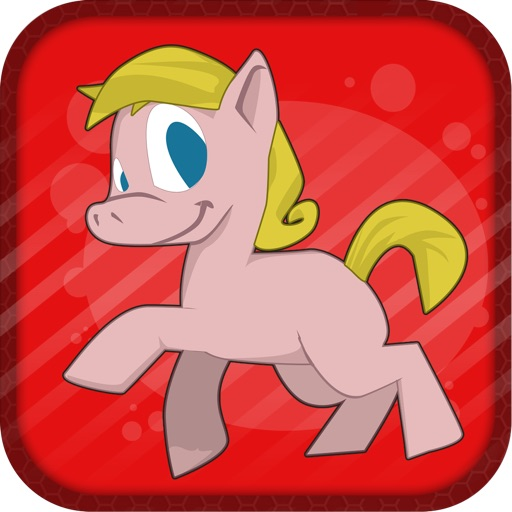 Симпатичные Дружба Пони бегают и прыгают Cute Pony Friendship Run and Jump