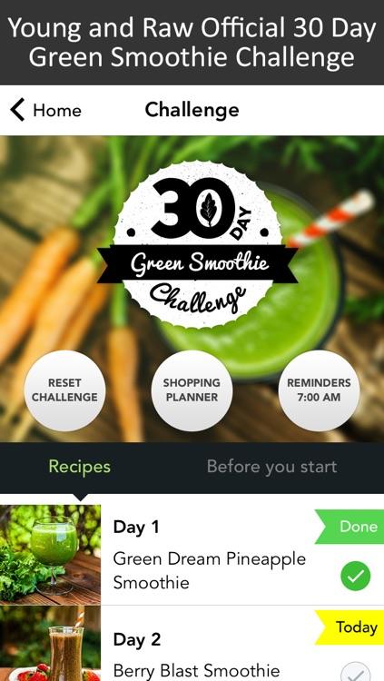 30 Day Green Smoothie Challenge