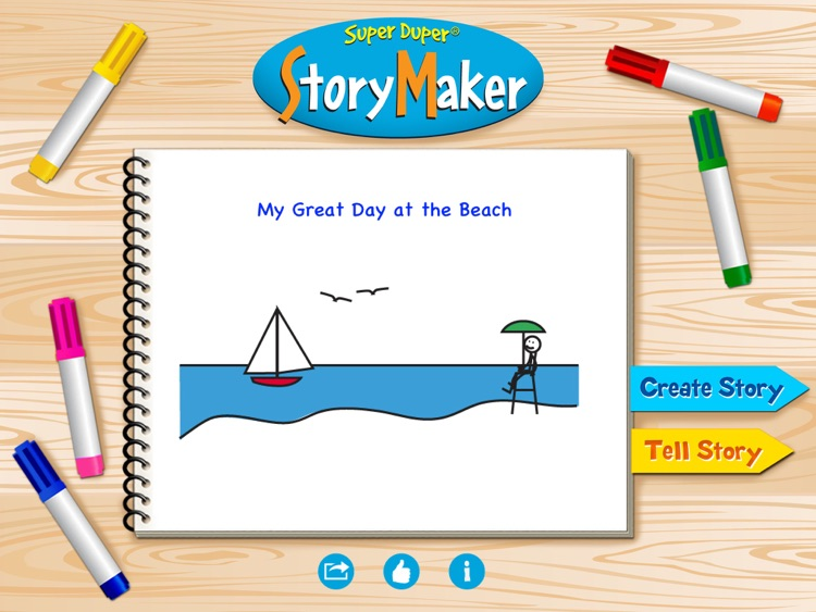 Super Duper StoryMaker screenshot-0