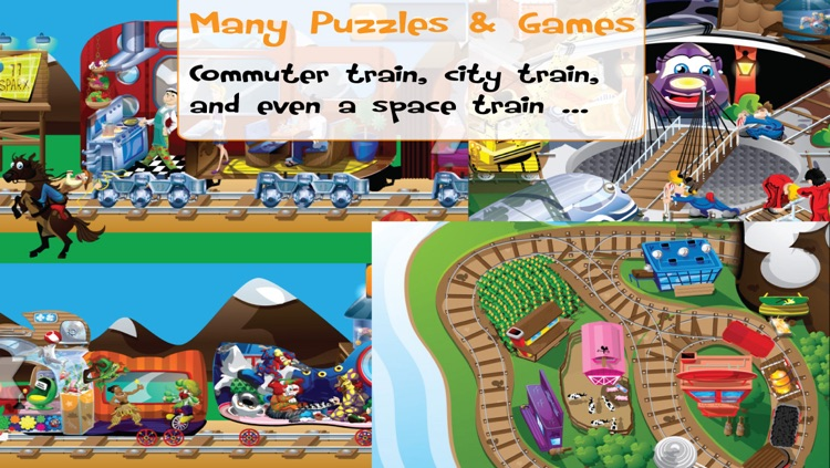 PUZZINGO Trains Puzzles Games for Kids and Toddlers screenshot-4