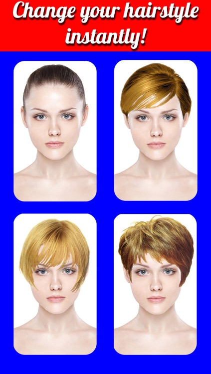Hairstyles Makeover Pro- Virtual Hair Try On to Change yr look