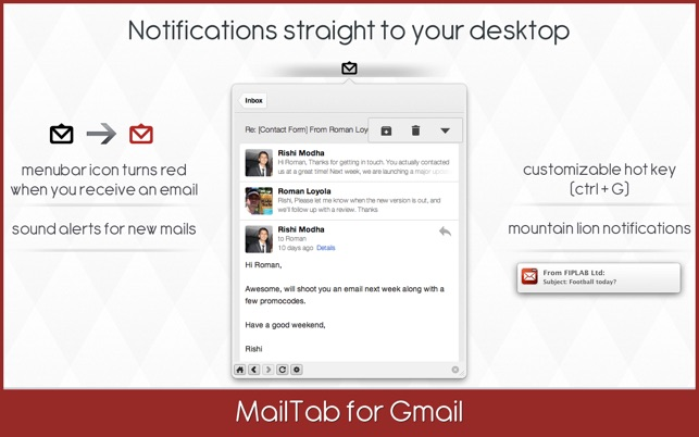MailTab for Gmail - Email Client on the Mac App Store