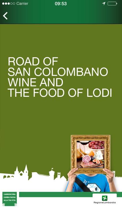 Road of San Colombano Wine and the Food of Lodi