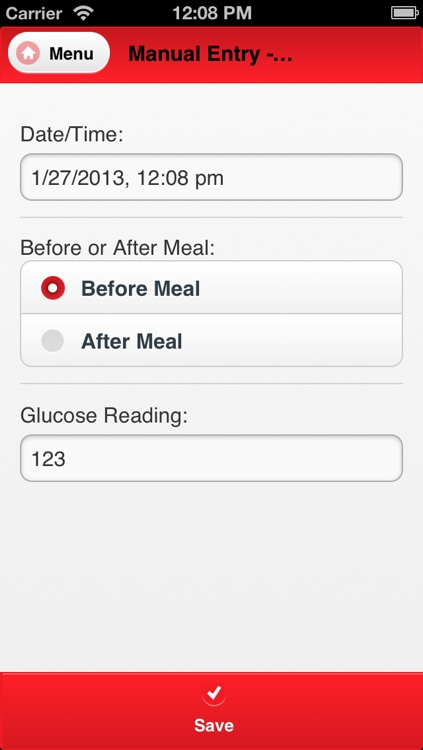 Blood Sugar Tracking screenshot-3