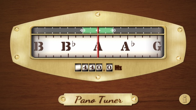 Free Chromatic Tuner: Pano Tuner on the App Store