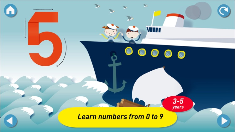Montessori Numberland - Learn to count and trace numbers screenshot-0