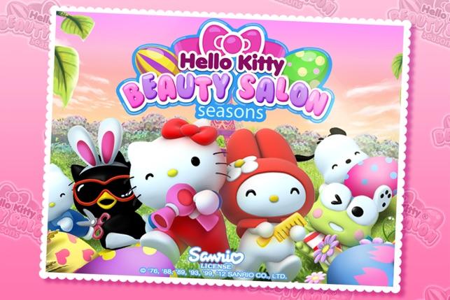 Hello kitty beauty salon seasons on the app store for 4 seasons beauty salon