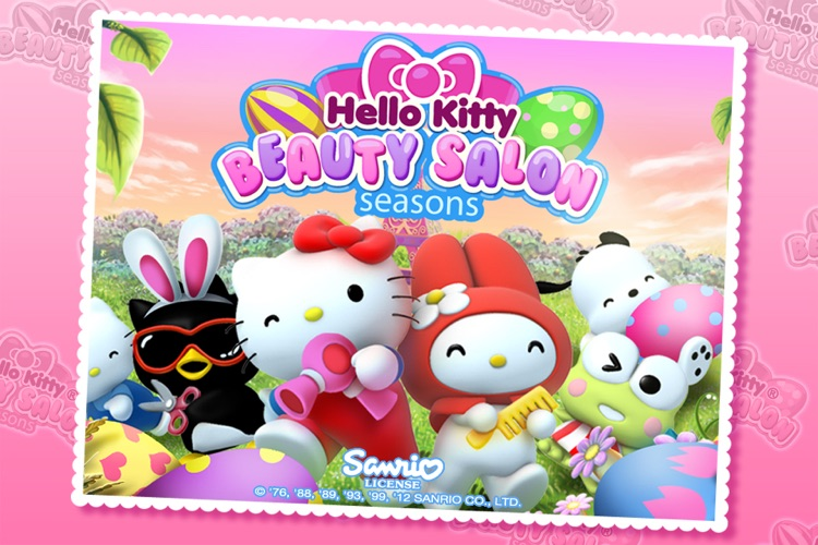 Hello Kitty Beauty Salon Seasons screenshot-0