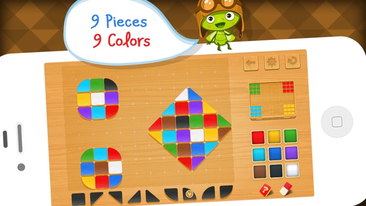 Mosaic Tiles - Art Puzzle Game for Schools by A+ Kids Apps & Educational Games screenshot-3