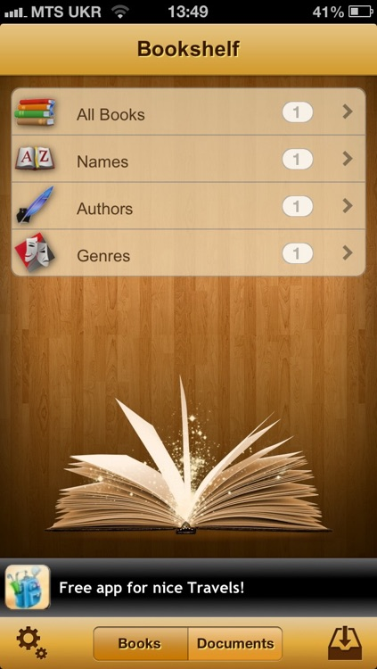 uBooks: app for reading books in fb2, epub and other popular ebook formats screenshot-4