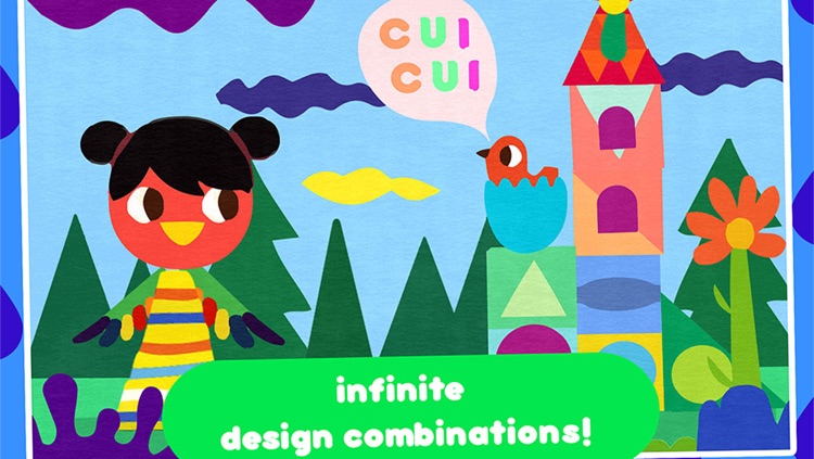 Paper Cut Studio – cutting and painting activity for children - create craft collage illustration and art screenshot-3