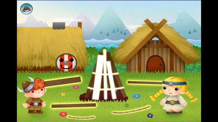 Viking Rudi - Cute Boy Becomes A Hero By Helping Others - EduGame For Toddlers screenshot-3