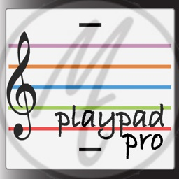 playpad pro. Music Theory Stave Instrument.