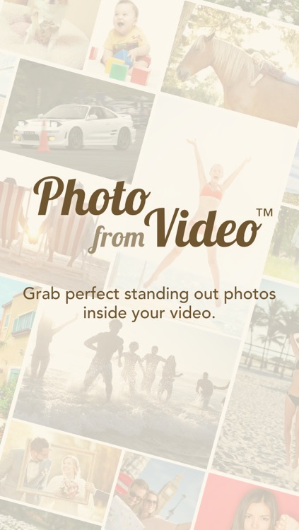 Photo from Video Free - Grab Perfect Photos Inside Your Video screenshot-0
