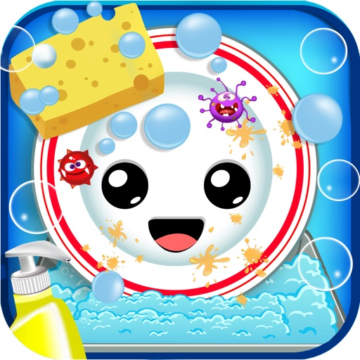 Kids Dish Washing icon