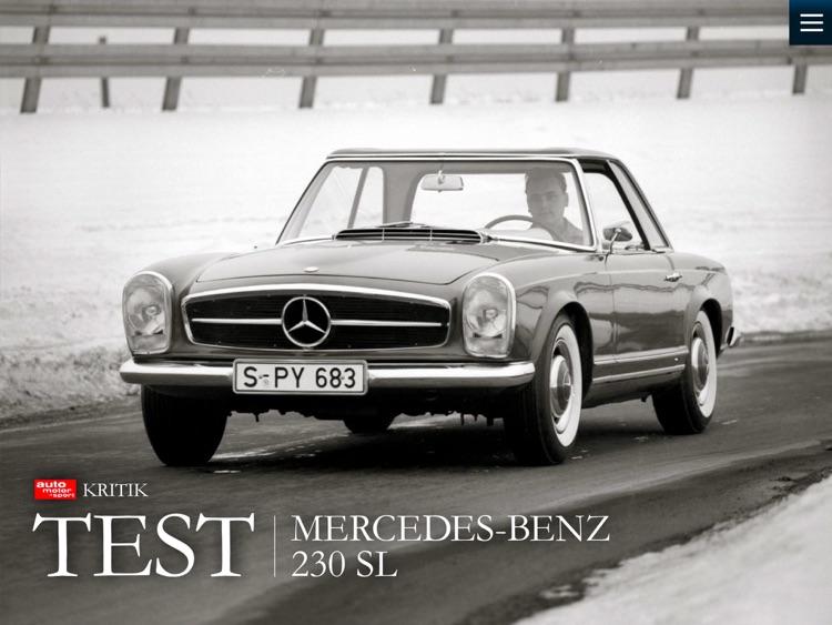 60 Jahre Mercedes SL – die Geschichte einer Ikone präsentiert von auto motor und sport