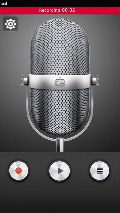 MP3 Voice Recorder Secret+Black Screen