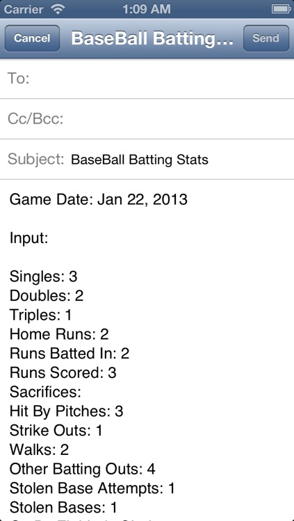MyBaseball Batting Stats screenshot-4