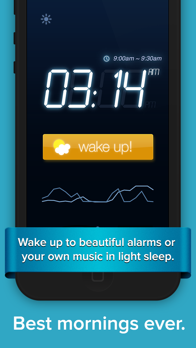 SleepBot - Smart Cycle Alarm with Motion & Sound Tracker Screenshot