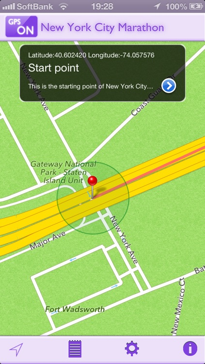 GPS-R for New York City Marathon screenshot-1