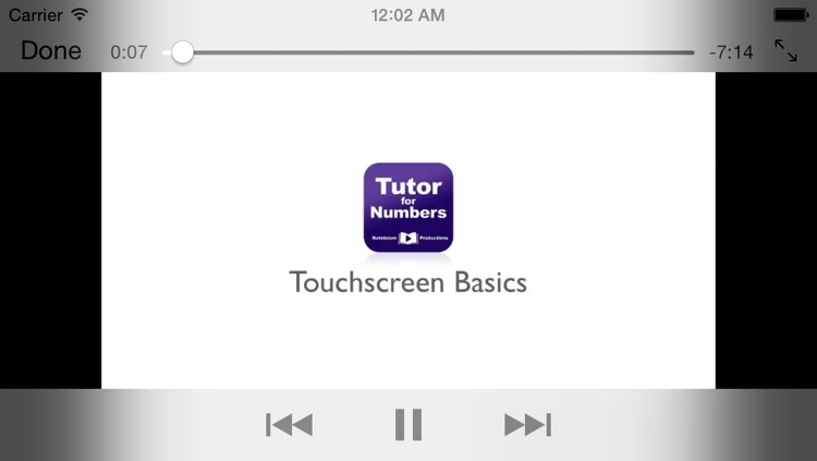 Tutor for Numbers