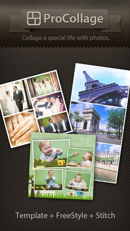 ProCollage - Photo Collage Maker & Photo Stitch Creator