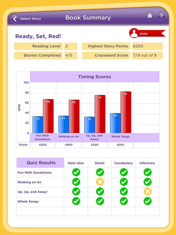 One Minute Reader Level 3 screenshot-4