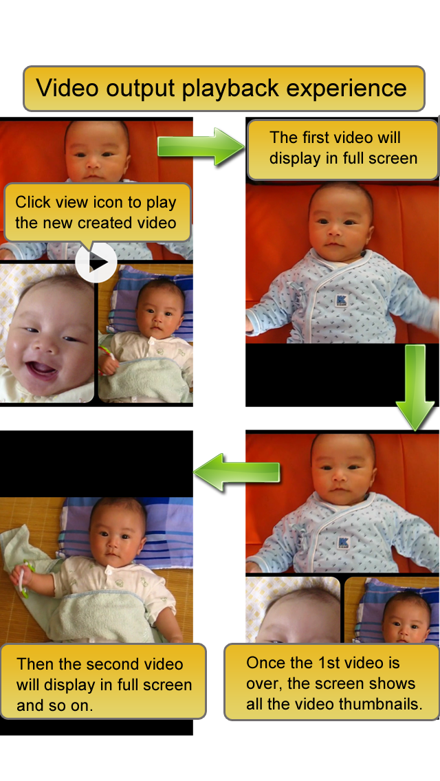 Screenshot #2 pour Video Album - Frame Video, Join Video, Crop Video, Rotate Video