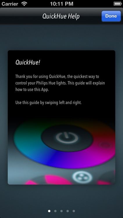 QuickHue - The easy to use Hue Remote screenshot-4