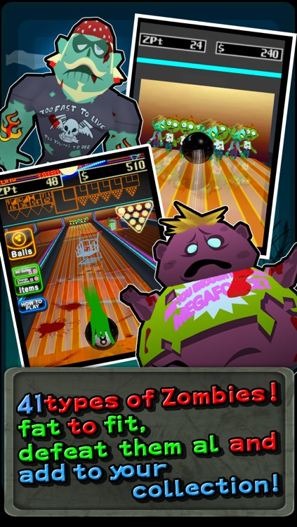 Zombie Bowling! screenshot-2
